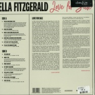 Back View : Elle Fitzgerald - LOVE FOR SALE (LP) - Dreyfus Jazz / 538421281