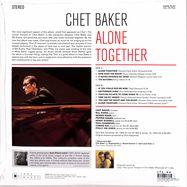 Back View : Chet Baker - ALONE TOGETHER (180G LP) - Jazz Images / 1083074EL1