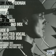 Back View : Kim Ann Foxman - CREATURE (INCL. SIMONCINO & A/JUST/TED REMIXES) - Firehouse / Firehouse003