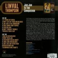 Back View : Linval Thompson - JAH JAH IS THE CONQUEROR (LP) - Kingston Sounds / KSLP048