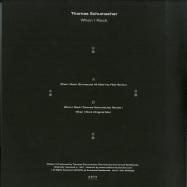 Back View : Thomas Schumacher - WHEN I ROCK - REMIXES - ARTS / ARTS035