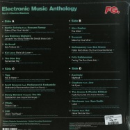 Back View : Various Artists - ELECTRONIC MUSIC ANTHOLOGY 02 (2LP) - Wagram / 169331