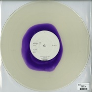 Back View : Eva Be - BELIGHT EP (CLEAR+DARK PURPLE COLORED VINYL) - Poker Flat / PFRWAX008