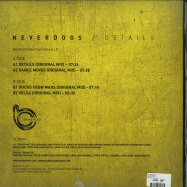 Back View : Neverdogs - DETAILS EP - Bamboleo / BAM003V