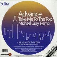 Back View : Advance - TAKE ME TO THE TOP (MICHAEL GRAY REMIX) (COLOURED EDITION) - High Fashion Music / MS 475 - COLOR