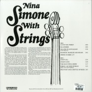 Back View : Nina Simone - NINA SIMONE WITH STRINGS (LP) - Cornbread / CRNBR16064 / 00134424