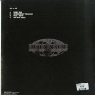 Back View : Dax J & UVB - KING OF THE SEWERS EP - Monnom Black / MONNOM019