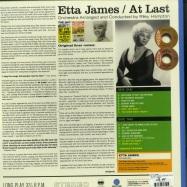 Back View : Etta James - AT LAST! (+4 BONUS TRACKS) (LTD. BLUE COLOURED 180 G VINYL) - Waxtime / 012950613