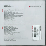 Back View : Habischman - GLOBAL UNDERGROUND: NUBREED 09 (2XCD) - Global Underground / NU009CD