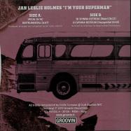 Back View : Jan Leslie Holmes - IM YOUR SUPERMAN - Groovin / GR-1258