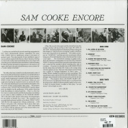 Back View : Sam Cooke - ENCORE (LP) - Universal / 7186221
