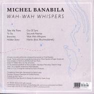 Back View : Michel Banabila - WAH-WAH WHISPERS (LTD CLEAR LP) - Bureau B / BB363 / 05199141