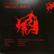 Back View : Various Artists - PRIVATE PARTY EP - 030303 / 030EP020