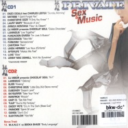 PRIVATE - SEX AND MUSIC (2 CD + 1DVD)