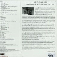 Back View : Quincy Jones - GEMS FROM THE MERCURY YEARS 1959 - 1962 (LP) - Not Now Music / notlp163