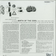 Back View : Miles Davis - BIRTH OF THE COOL (180G LP + MP3) - Universal / 4797297