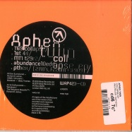 Back View : Aphex Twin - COLLAPSE EP (CD) - Warp Records / WAP423CD