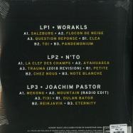 Back View : Worakls / Nto / Joachim Pastor - HUNGRY 5 (3LP) - HUNGRY MUSIC / HMV001