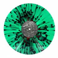 Back View : Boston 168 - OBLIVION EP (GREEN RED OPAQUE SPLATTER) - Odd Even / ODDEVEN004SP