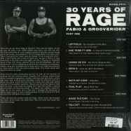 Back View : Fabio & Grooverider - 30 Years of Rage Part 1 (2LP) - Above Board Projects / RAGELPPT1