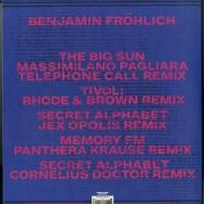 Back View : Benjamin Froehlich - AMIATA REMIXES - Permanent Vacation / PERMVAC192-1