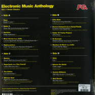 Back View : Various Artists - ELECTRONIC MUSIC ANTHOLOGY 01 (2LP) - Wagram / 3370066 / 05181881