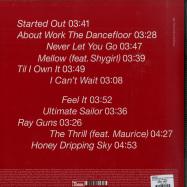 Back View : Georgia - SEEKING THRILLS (LTD RED 180G LP + MP3) - Domino Records / WIGLP384X