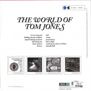 Back View : Tom Jones - THE WORLD OF TOM JONES (180G LP + MP3) - Decca / 0831275