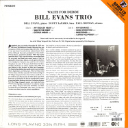 Back View : Bill Evans Trio - WALTZ FOR DEBBY (LP + CD) - Groove Replica / 77013 / 9655994