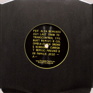 Back View : Freund Der Familie - ALFA REMIXES 03.1 (7 INCH, YELLOW COLOURED VINYL) - Freund der Familie / FDFALFA03.1