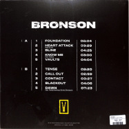 Back View : Bronson - BRONSON (CLEAR LP+MP3) - Foreign Family Collective, Ninja Tune / ZEN266