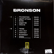 Back View : Bronson - BRONSON (LTD BLACK & YELLOW LP+MP3) - Foreign Family Collective, Ninja Tune / ZEN266C