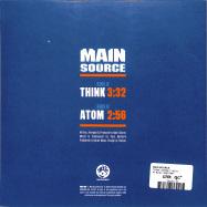 Back View : Main Source - THINK / ATOM (7 INCH) - Mr. Bongo / MRB7186
