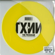 Back View : Suzi Analogue - THE THING / THE PROGRAM (7 INCH, YELLOW COLOURED) - Dopeness Galore / DG 9 001