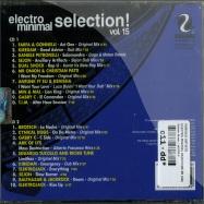 Back View : Various Artists - ELECTRO MINIMAL SELECTION VOL. 15 (2xCD) - Saifam Music / atl939-2