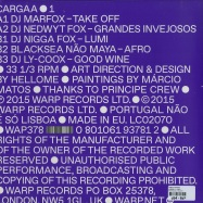 Back View : Various Artists - CARGAA 1 (12 INCH + MP3) - Warp Records / Wap378