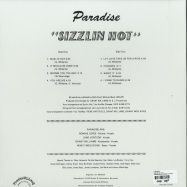 Back View : Paradise - SIZZLIN HOT (LP) - FREDERIKSBERG RECORDS / FRB 004