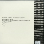 Back View : Reformed Society - FOOD FOR THOUGHT EP (MASSIMILIANO PAGLIARA REMIX) - What Ever Not / WEN013