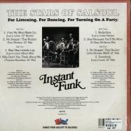 Back View : Instant Funk - STARS OF SALSOUL (INC. LARRY LEVAN, TOM MOULTON, FRANCOIS KEVORKIAN, SHEP PETTIBONE & JOHN MORALES) 2X 12 INCH - Salsoul / SALSBMG13LP