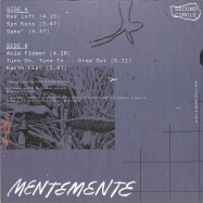 Back View : Giuseppe Leonardi - MENTEMENTE - Second Circle / SC017