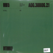 Back View : Unknown Artist - WH015 - Withhold / WITHHOLD015