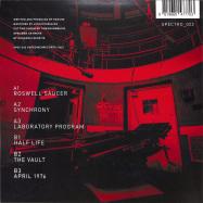 Back View : Parand - PATIENT-X (GREEN COLOURED VINYL) - SPECIMEN / SPEC022