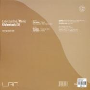 Back View : Exercise One / Memo - KITCHENTOOLS EP - Lan Muzic / lan001