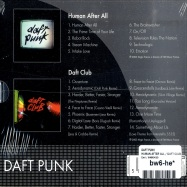 HUMAN AFTER ALL / DAFT CLUB DOUBLE CD PACK (2XCD)