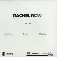 Back View : Rachel Row - L SQUARE, KINK (ADAM PORT RMXS) - Pets Recordings / PETS040