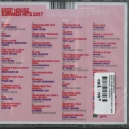 Back View : Various Artists - DEEP HOUSE SUMMER HITS 2017 (2XCD) - Pink Revolver / 26421882