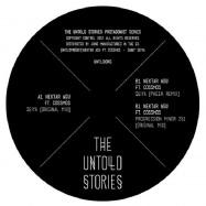 Back View : Nektar Agu feat Cossmos - SAINT SEIYA (FEAT PHEEK MIX) (140 GR) - The Untold Stories / UNTLDPRO 007