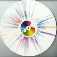 Back View : Cari Lekebusch - FULL SPECTRUM (WHITE / RAINBOW SPLATTER VINYL) - H-Productions / HYB036
