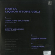 Back View : Charonne, Loop Exposure - RAKYA LIQUOR STORE VOL.1 - Rakya Records / ZORA003