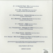 Back View : Cab Drivers - THE REMIXES PART TWO (FULL COVER EDITION) - Cabinet Records / Cab52.2